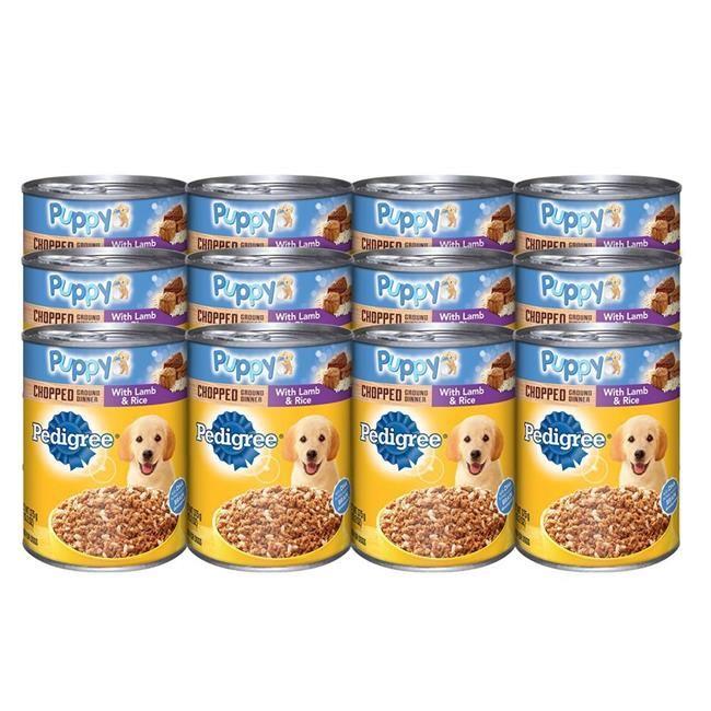 Marspc 798379 13.2 oz Pedigree Lamb & Rice Dog Food