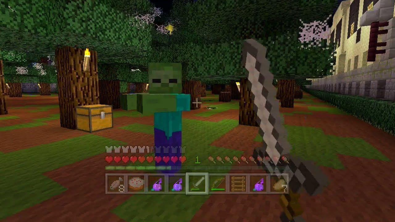 Minecraft Xbox - Halloween Hunger Games - Bone Yard  Game
