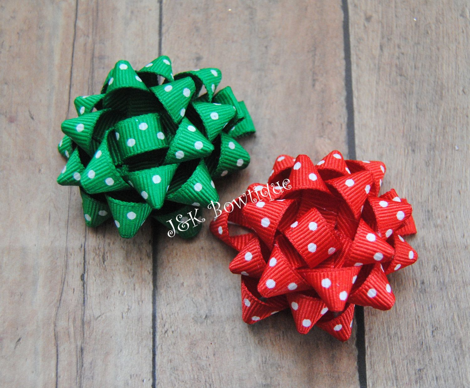 Christmas Hair Bow Small Gift Bow Holiday Hair Bow Christmas Gift Bow Sculpted Hair Bow Hair Clip Yo Christmas Hair Bows Christmas Gift Bow Christmas Bows