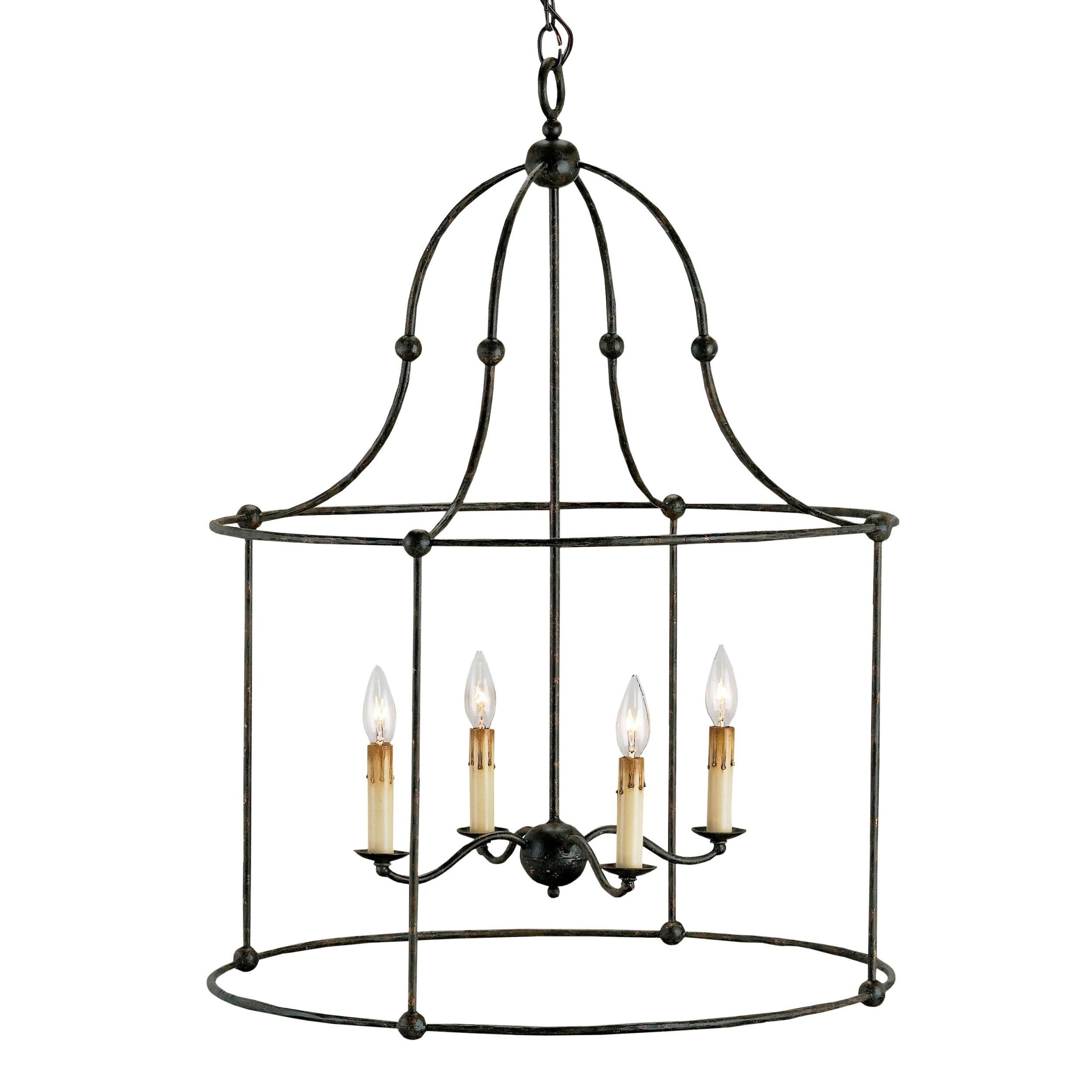 Wrought iron lantern by currey and company lighting pinterest wrought iron lantern by currey and company aloadofball Gallery