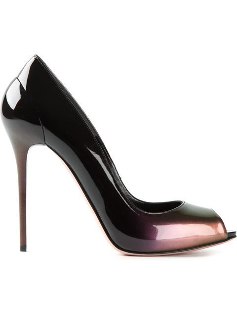 Shop Alexander McQueen dégradé peep-toe pumps in Eraldo from the world's best independent boutiques at farfetch.com. Over 1500 brands from 300 boutiques in one website.