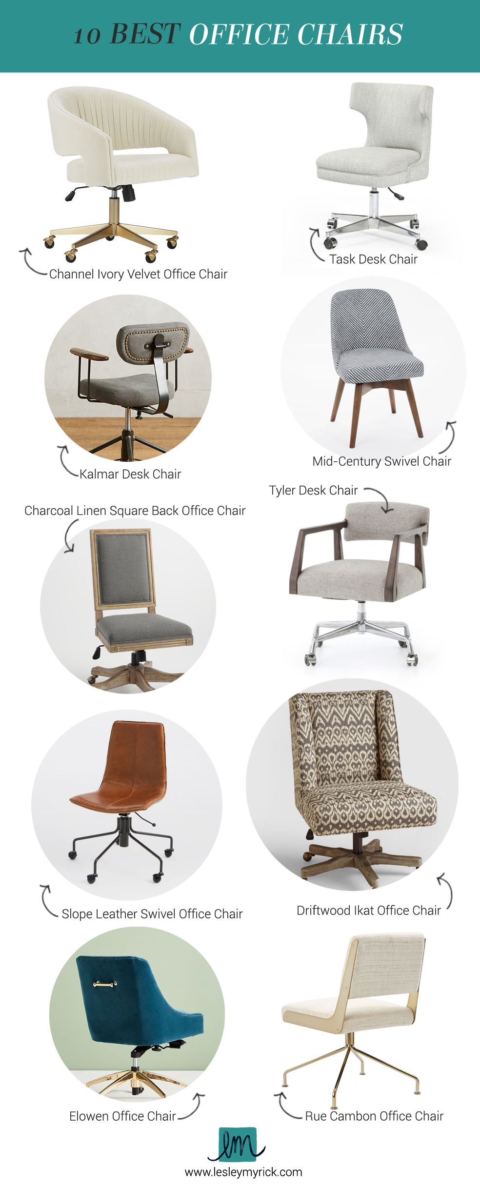 Lesley S Picks 10 Best Office Chairs Best Office Chair Mid