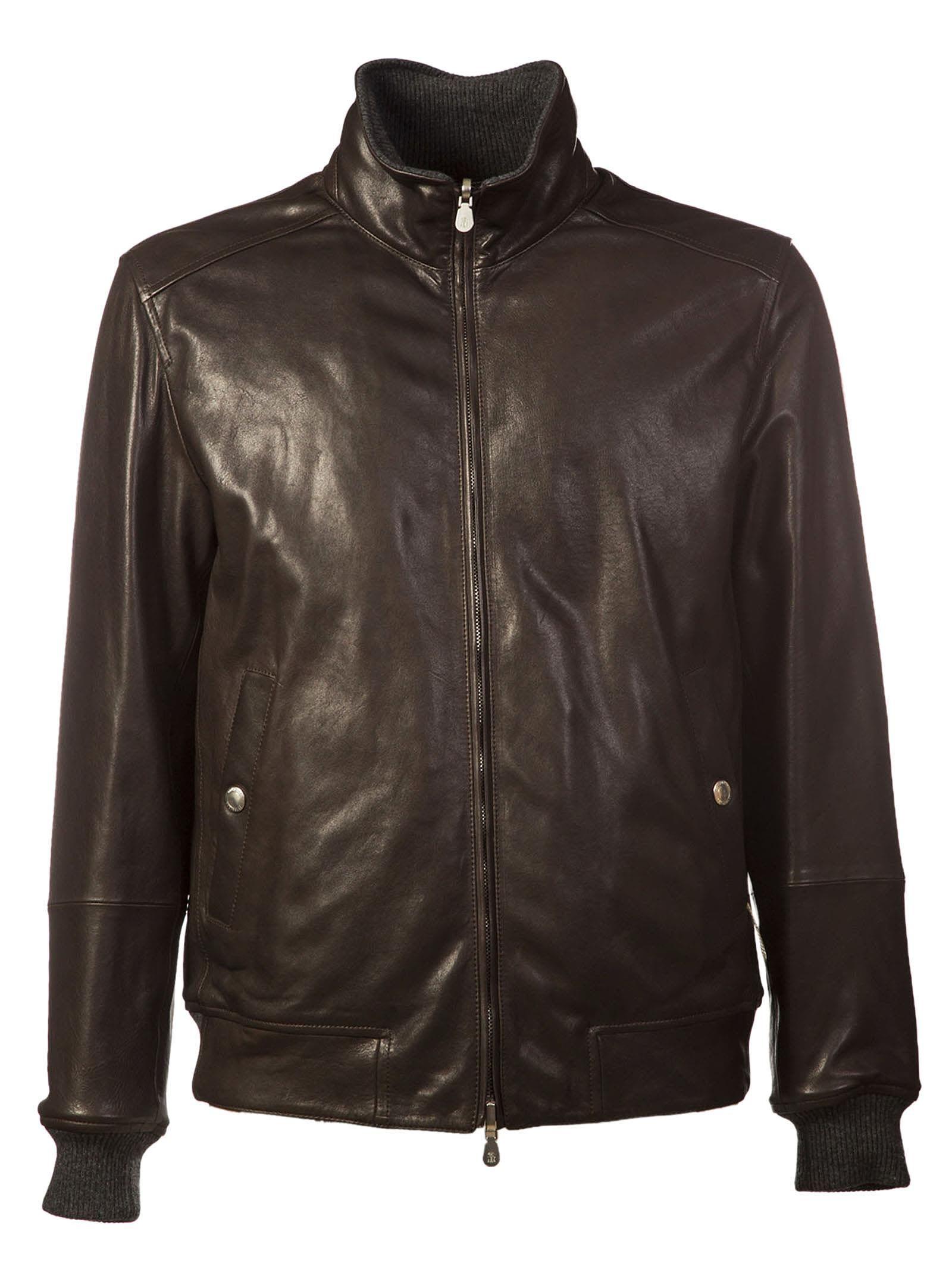 Brunello Cucinelli Reversible Leather Jacket Brunellocucinelli Cloth Leather Jacket With Hood Leather Jacket Reversible Leather [ 2136 x 1600 Pixel ]