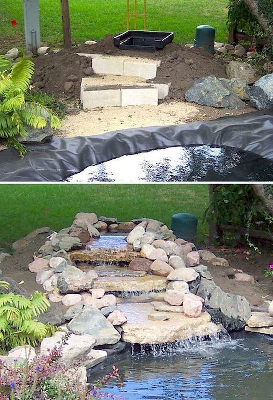Beautiful Backyard Waterfall Ideas 23 Waterfalls Backyard Ponds Backyard Water Features In The Garden