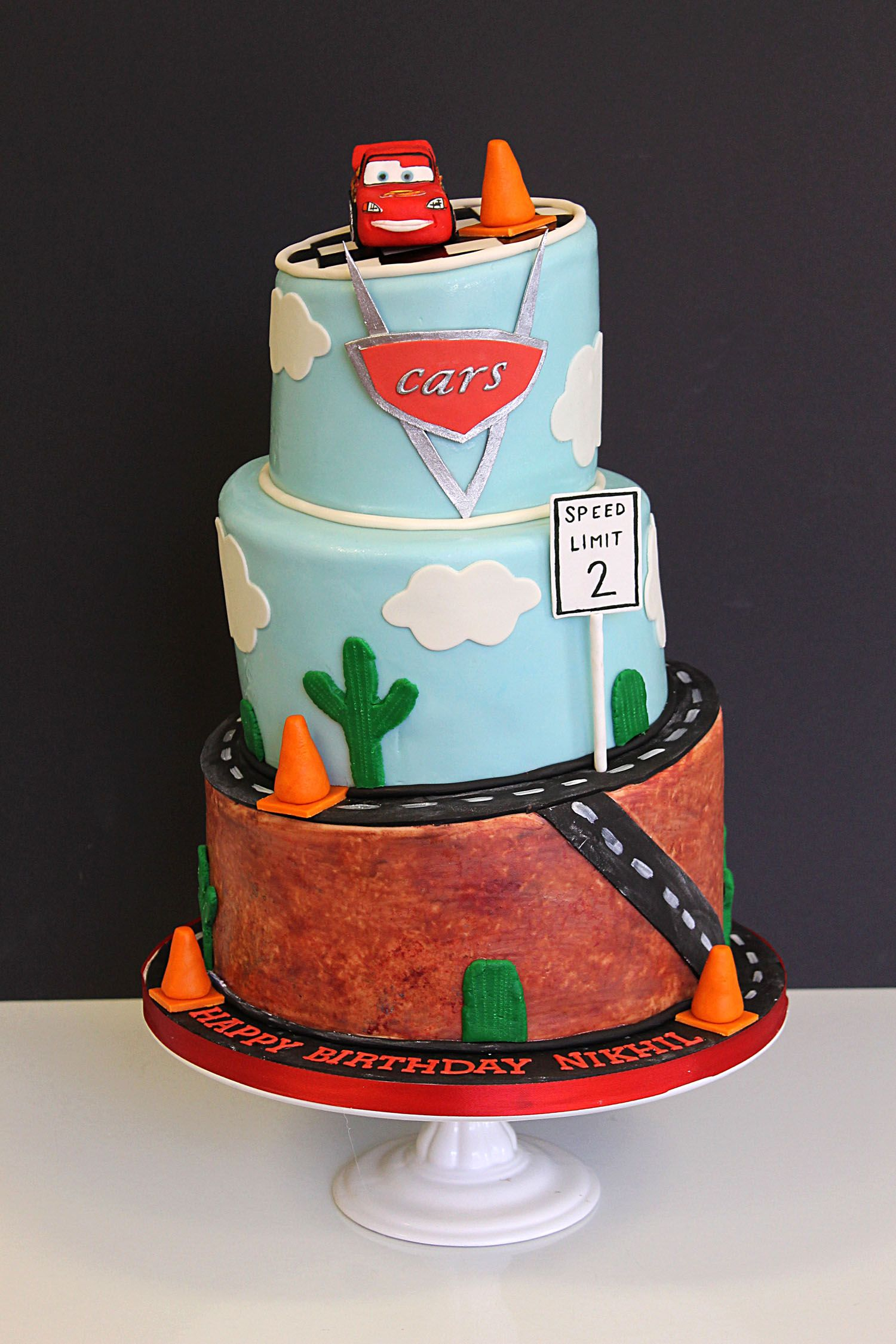 Cars Lightning McQueen Birthday