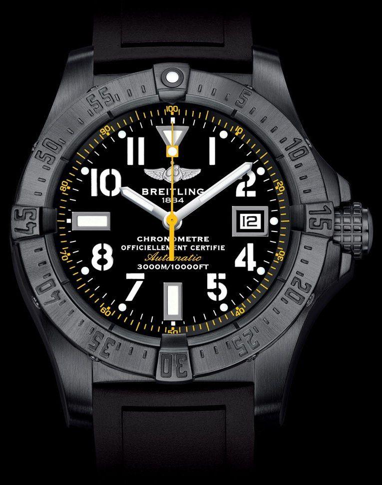 3e6bc2eb712 AVENGER SEAWOLF CODE YELLOW relógio em Breitling em pt.Presentwatch ...