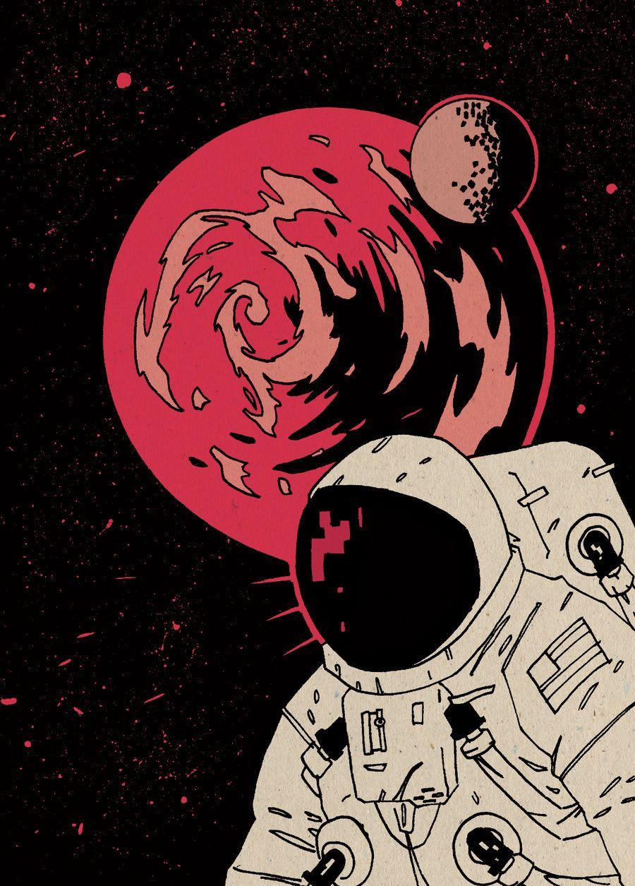 astronaut in space art - photo #36