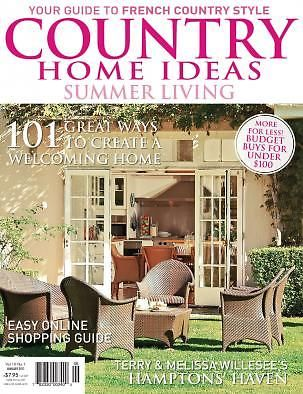 Vol 10 No 1 Country Home Ideas The Lifestyle Magazine