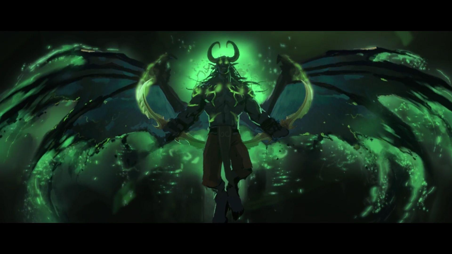 Harbingers Illidan World Of Warcraft 3 Warcraft Art World Of