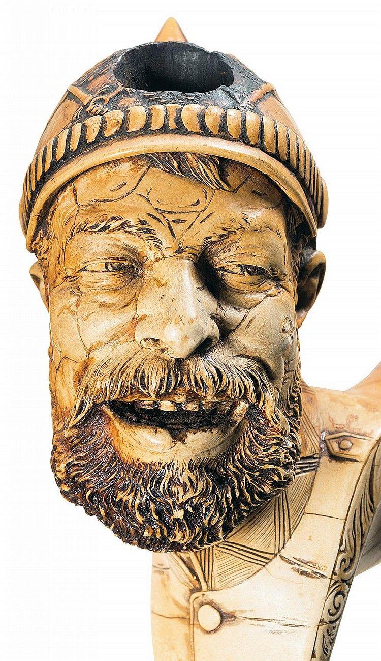 Meerschaum Pipe , German , Detail | antigüedades | Pinterest | Pipas ...