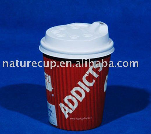 4oz Single Wall Paper Cup Coated With Double PE For Christmas