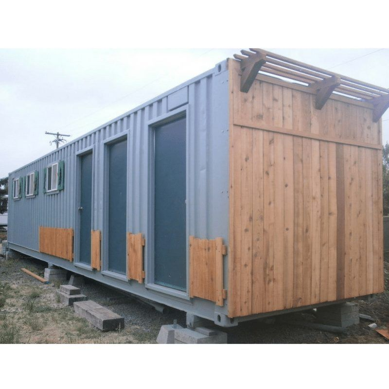 10 Tiny Container Cabins For Sale Container Cabin Cabins For Sale Container House Design