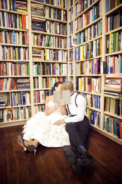 <3 this picture in a bookstore!  (or a library would work too)