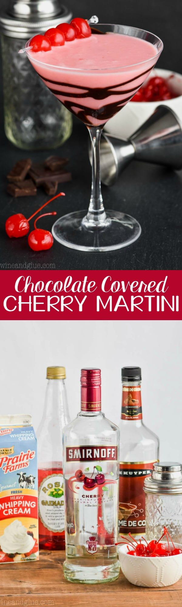 This Chocolate Covered Cherry Martini Is Like Dessert In A Glass A Chocolate Cherry Kiss Martini Chocolate Covered Cherries Cherry Martini Recipe Cherry Vodka
