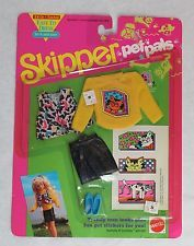 Mattel Skipper - Courtney Pet Pals Outfit Kitty Cat Easy To Dress #2956 Sealed