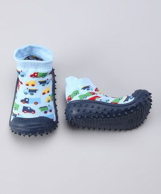 Genius! Skidders for my soon to be walker!