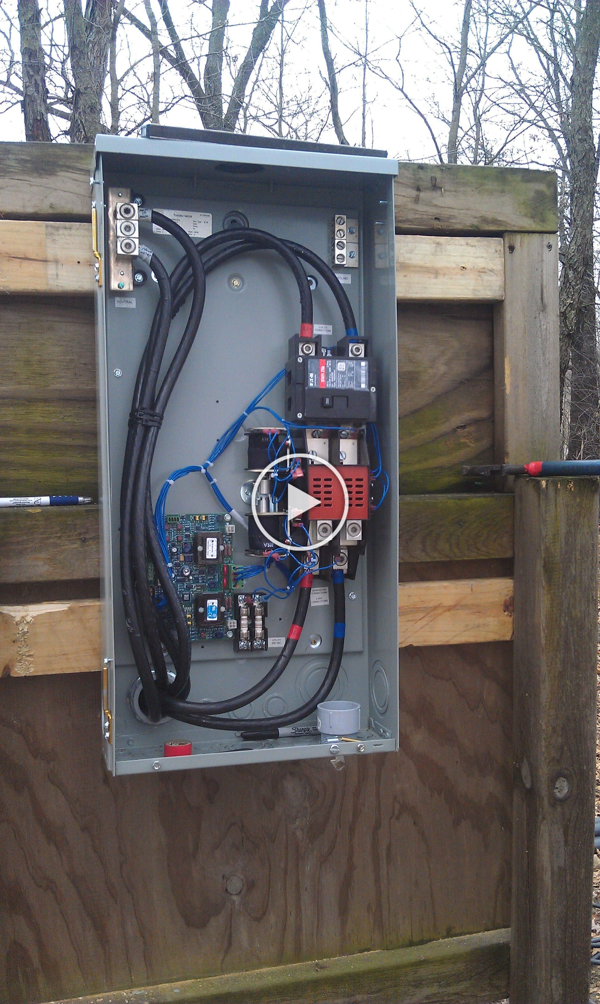 Eaton Generator Transfer Switch Electrical Projects Generator Transfer Switch Home Electrical Wiring