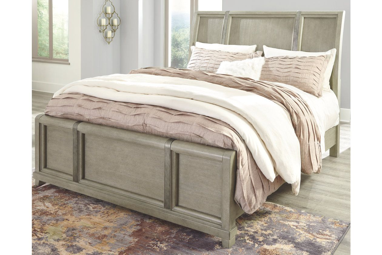 Best Chapstone Queen Sleigh Bed Ashley Furniture Homestore 640 x 480