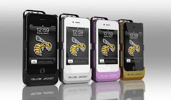 Stun Gun iPhone Case Anyone? #StunGun #iPhone #Case #YellowJacket #GADGETOSE @A Kievs