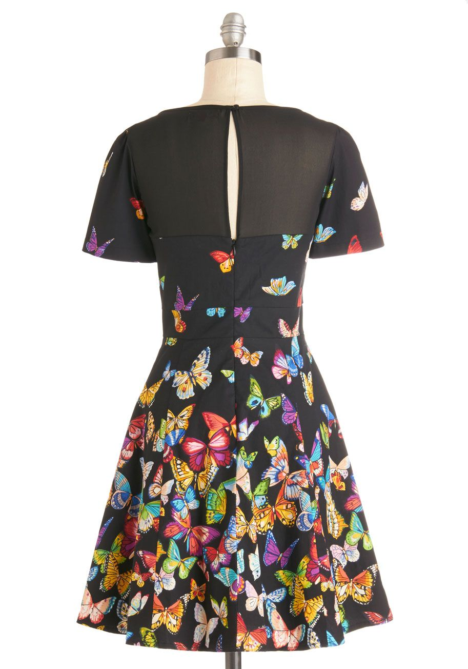 Flutter to the Fete Dress. Your heart will flutter with