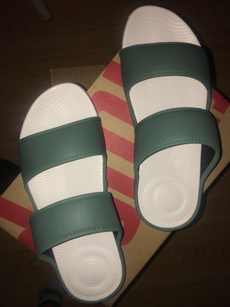 9377a376fc91f FitFlop Men's Lido Double Slide Sandals in Neoprene #fashion ...