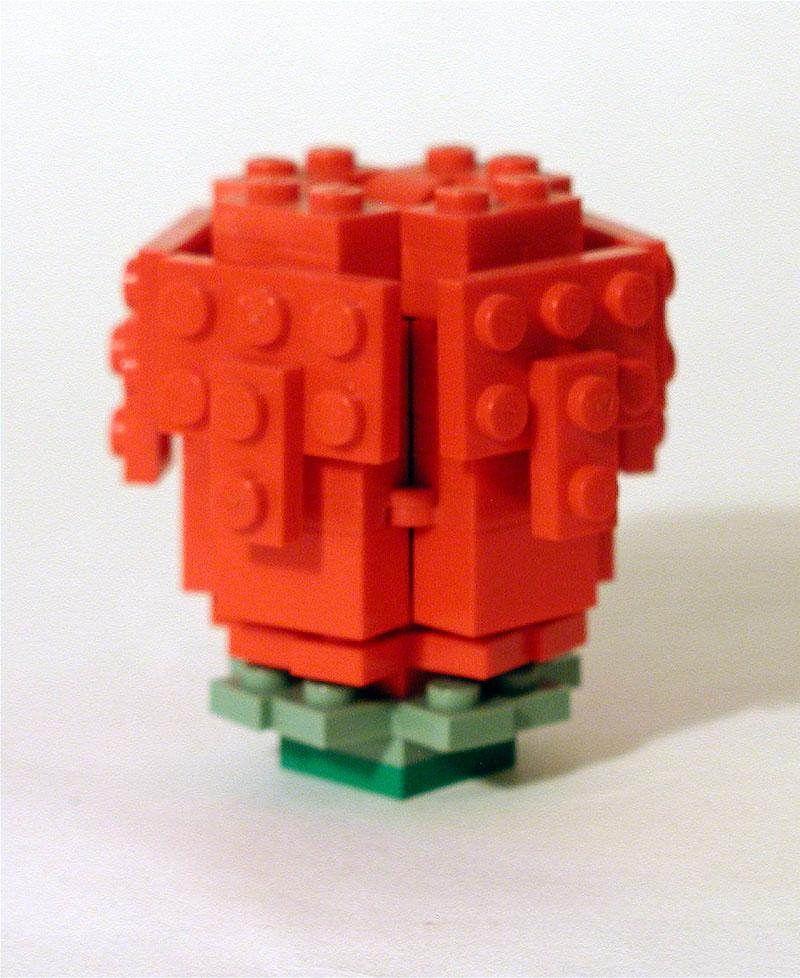 Lego Rose Space Man Mort Tags Lego Moc Rose Instructions Erics