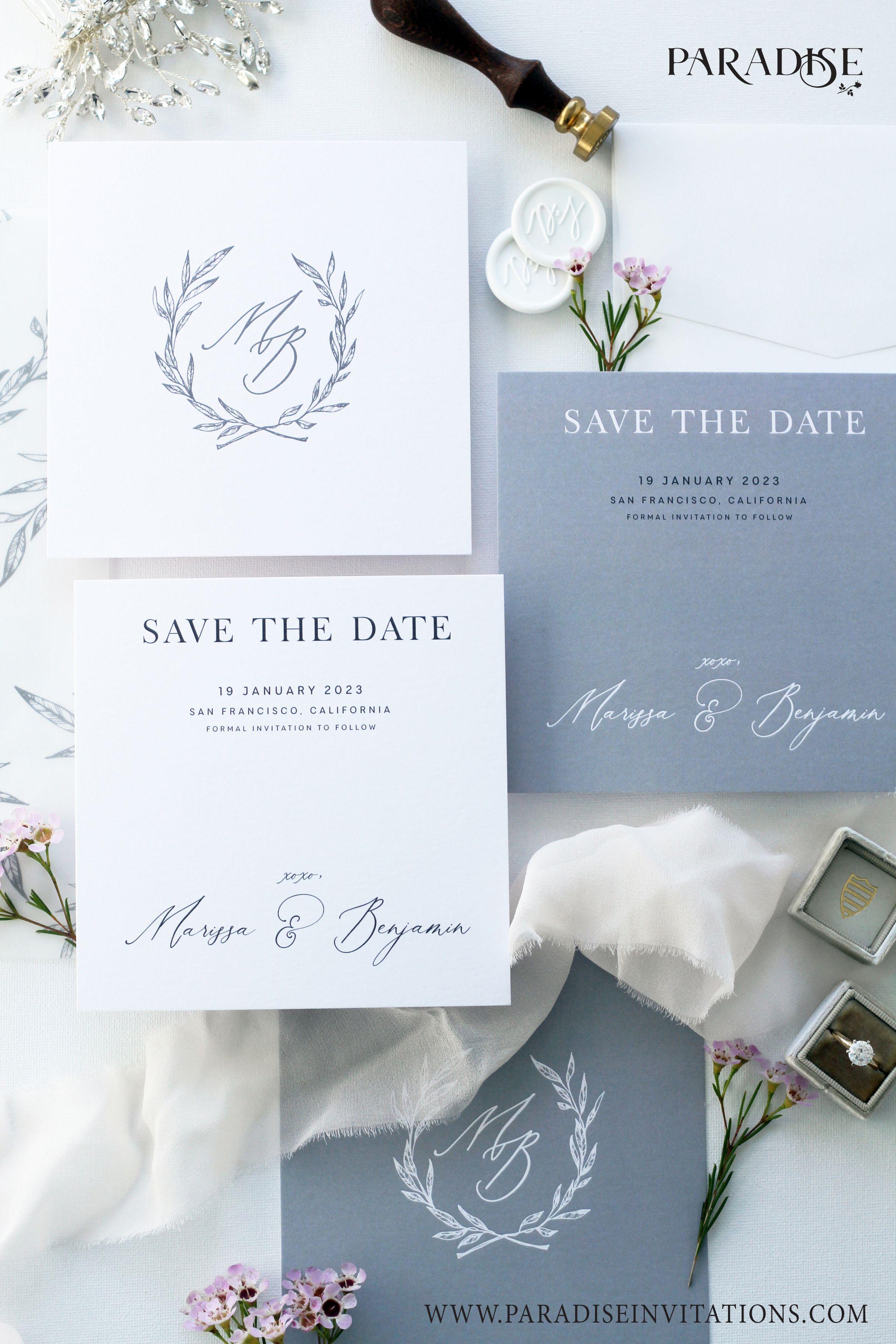 Elegant Floral Wedding Invitation Wedding Invitation Weddinginvitation Wedding Invitation Ribbon Simple Wedding Invitations Cheap Classy Wedding Invitations