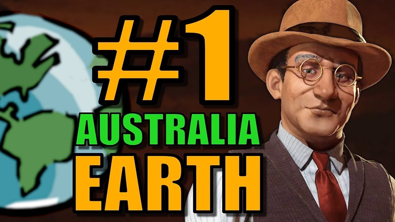 Civ 6: Australia Gameplay [True Start Earth Map] Lets Play