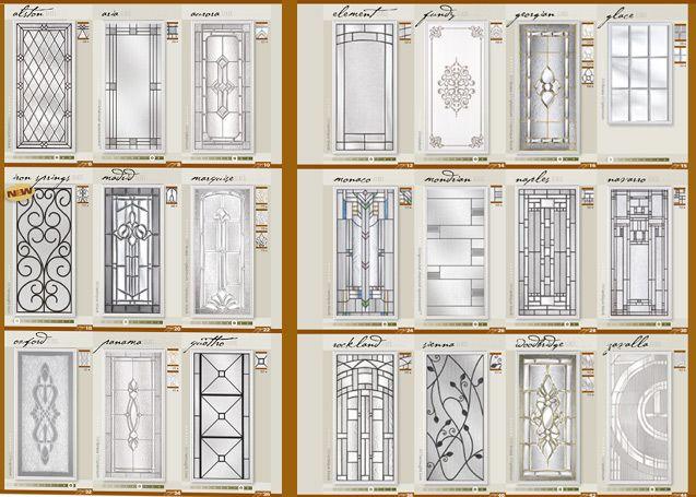 Glass Options Door Glass Inserts Masonite Doors Glass Door