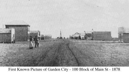 First Picture Ever Taken Of My Home Town Of Garden City Kansas