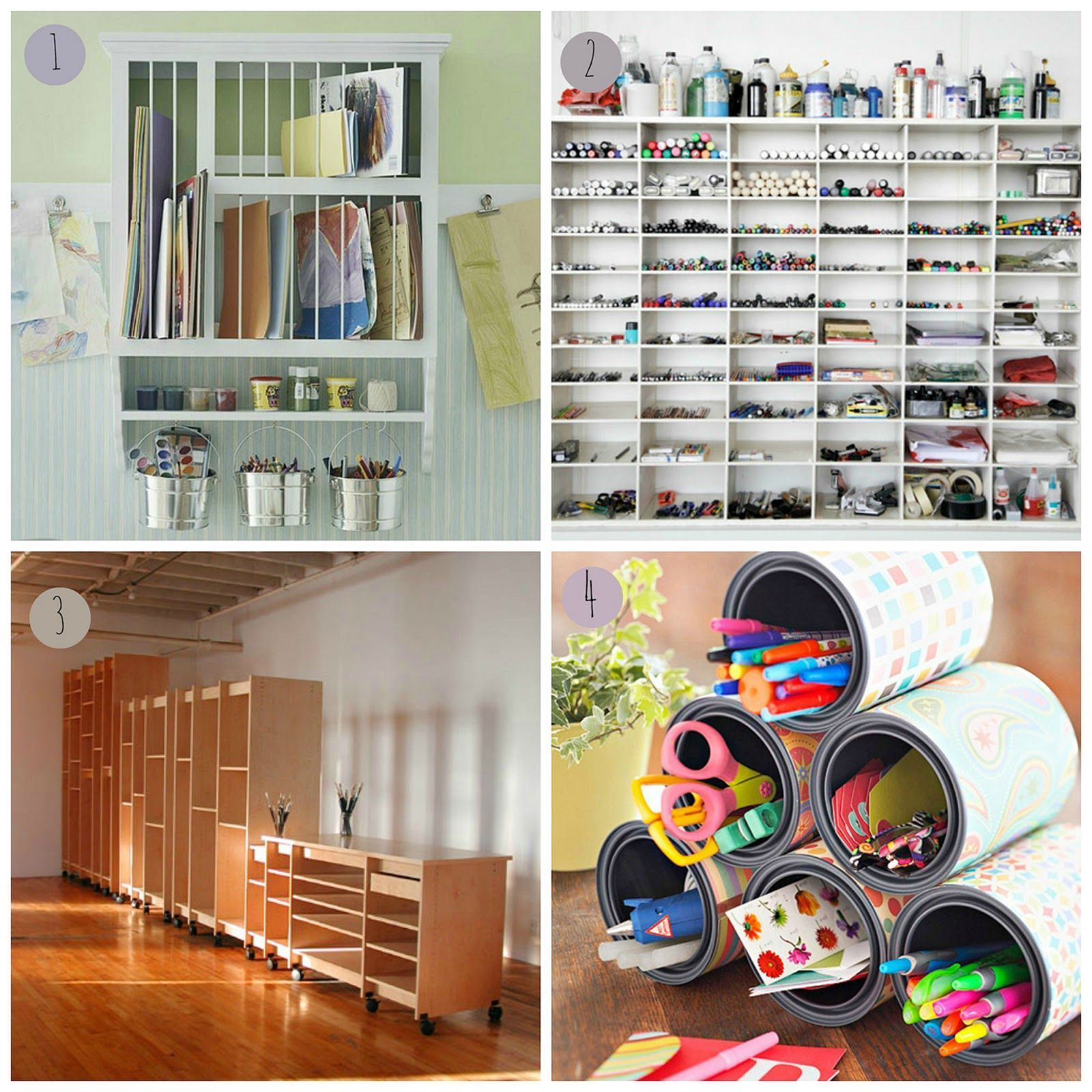 Deep Art Storage Drawers And Shelving Made For Art Gallery For