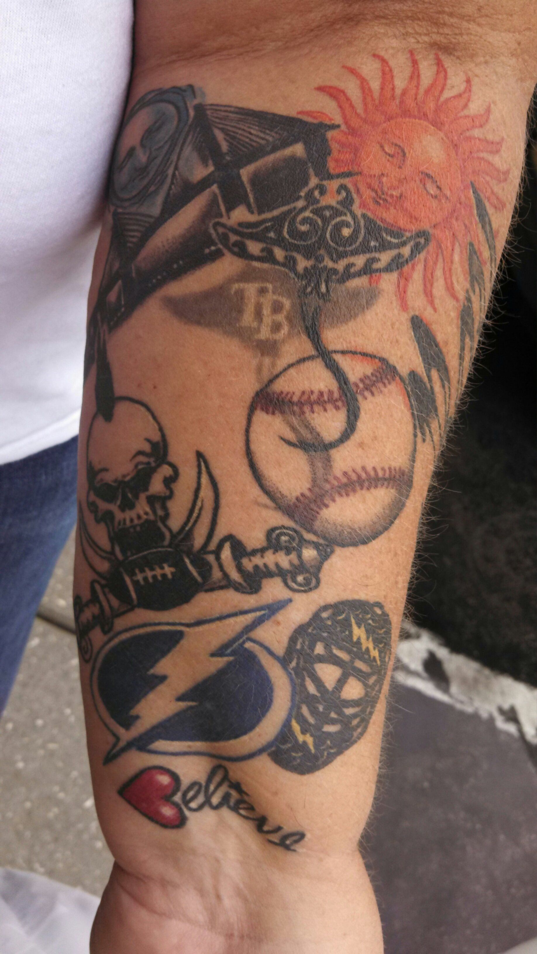 Tampa bay buccaneers tattoos images google search for Bay area tattoo artists