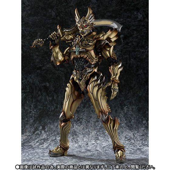 魔戒可動 炎刃騎士Zen 和 天弓騎士Guy 金色配色 套裝 | 玩具人Toy People News