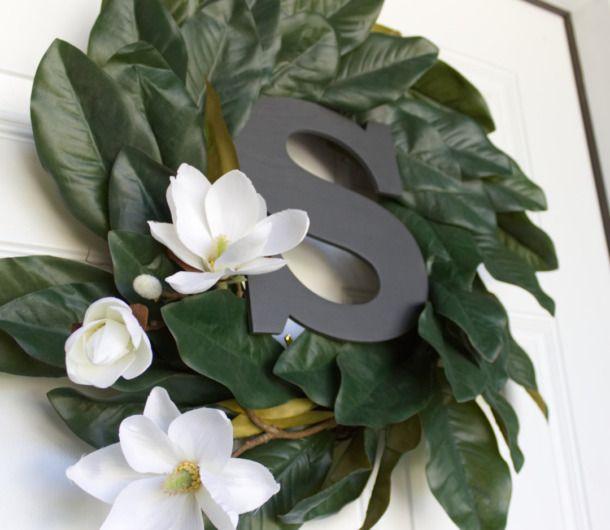 Photo of Farmhouse Style DIY Magnolia Wreath   CraftCuts.com