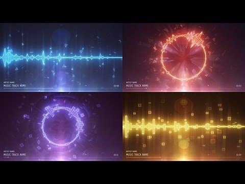 Audio Spectrum Music Visualizer After Effects Template After - Coming soon after effects template