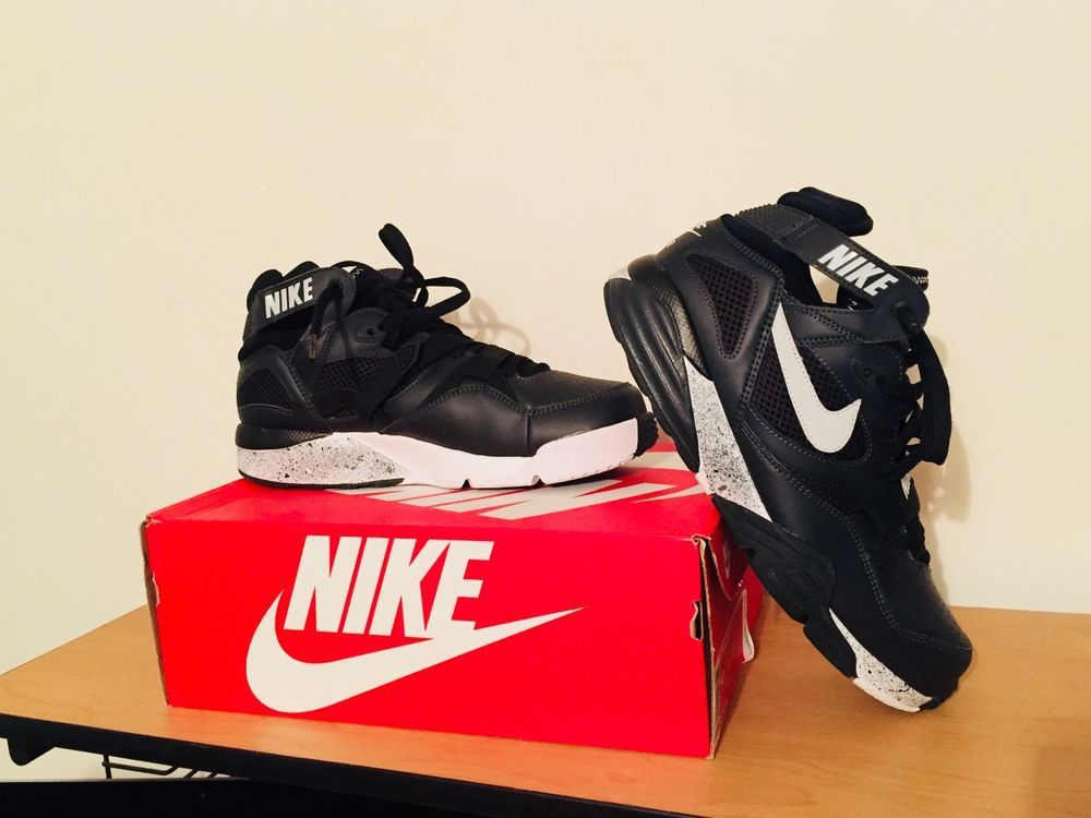 low priced 57e37 9f7d1 ... Bw Trainers Mens Black Silver Use Coupon Code For 18% Off  Size 10 Oreo  Customized Nike Air Trainer Max 91 NFL Bo Jackson Black Silver ...