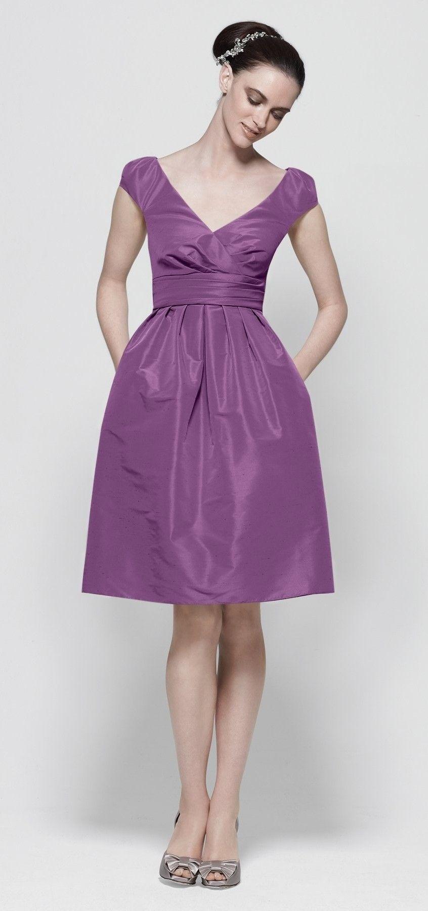 bridesmaid dress by watters $234 | Bridesmaids Dress Ideas | Pinterest
