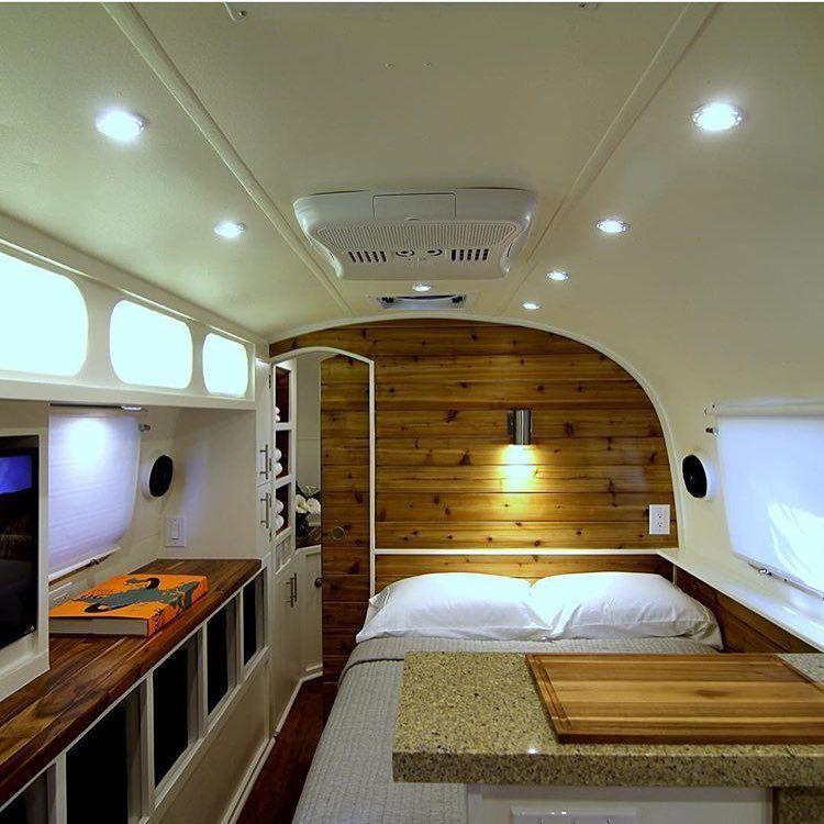 Inside Travel Trailers: Airstream Interior, Travel