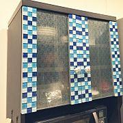 キッチン 食器棚diy ダイソー セリア ナチュラルのインテリア実例 2016 02 22 17 29 45 Roomclip ルームクリップ 食器棚 Diy 食器棚 リメイク インテリア