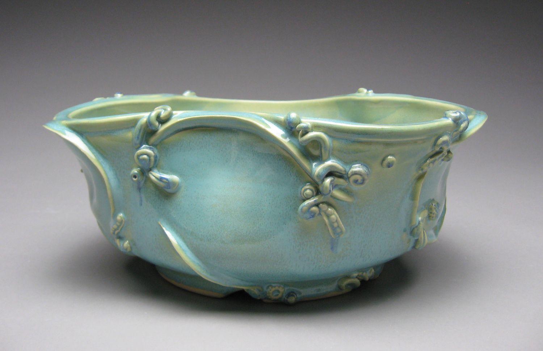 Leeann Catanzaro Pottery bowls, Catanzaro
