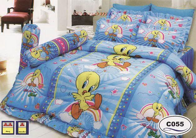 Tweety Bird Bedding | Queen Size Comforter Sets