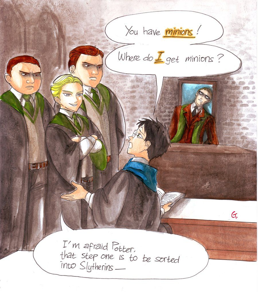 Where Can I Get Minions By Dinosaurusgede On Deviantart Fanart For Chapter 16 Of Harry Potter And The Harry Potter Fan Art Harry Potter Art Drarry Fanart