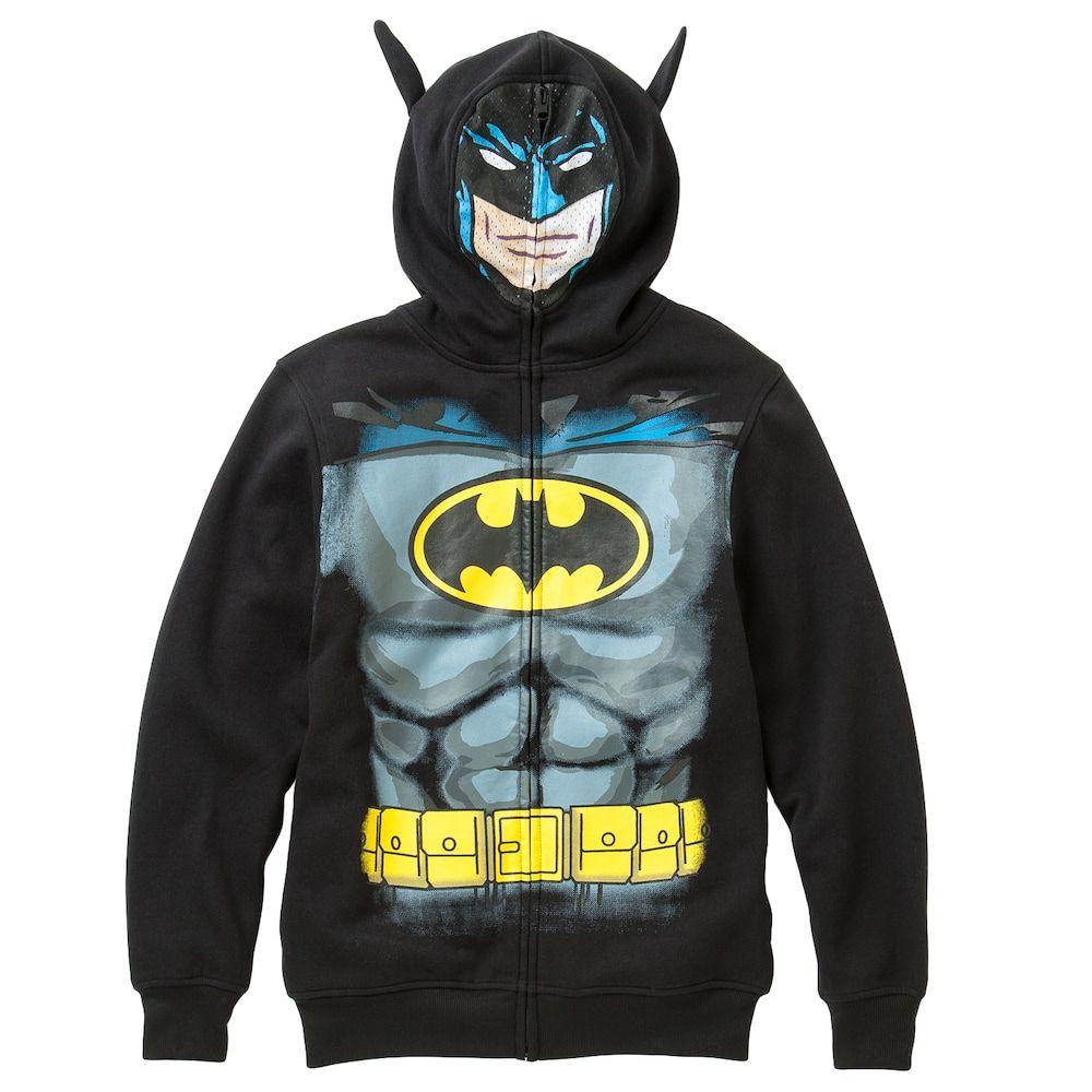 b0b5de96e9b Boys 8-20 Batman Fleece Hoodie