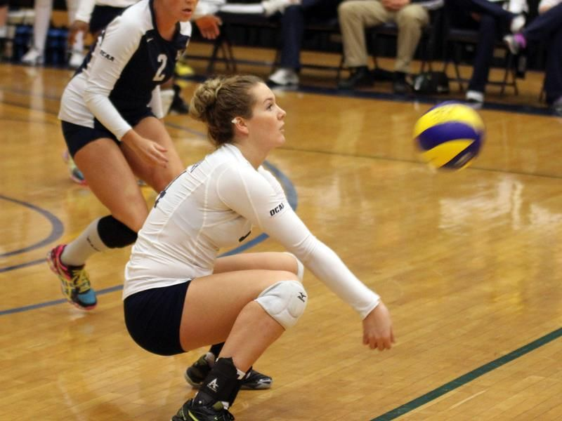 College Volleyball Dig Ball Exercises Volleyball Exercise