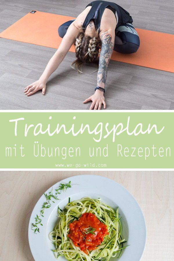 bauch weg training zum flachen bauch ohne fitnessstudio und dit fitness bungen zuhause pinterest yoga