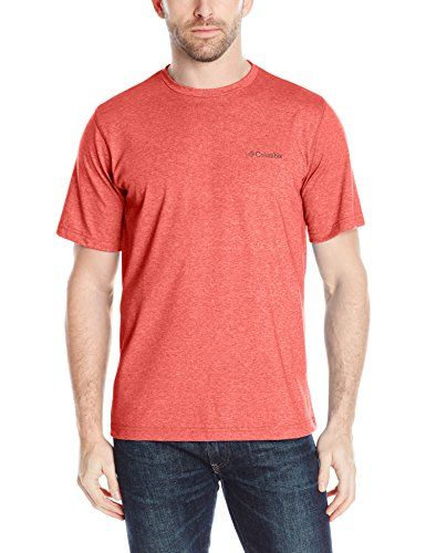 Columbia Men's Thistletown Park Crew Short Sleeve Tee, Medium - Black