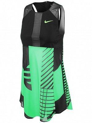 Nike Serena Williams 2017 Australian Open Women's Court Dry Premier Power  Tennis Dress, Green