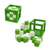 Checkered Cube Puzzle
