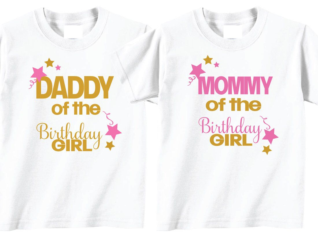 Twinkle Little Star Mom And Dad Birthday Shirts On White By TheCuteTee Etsy