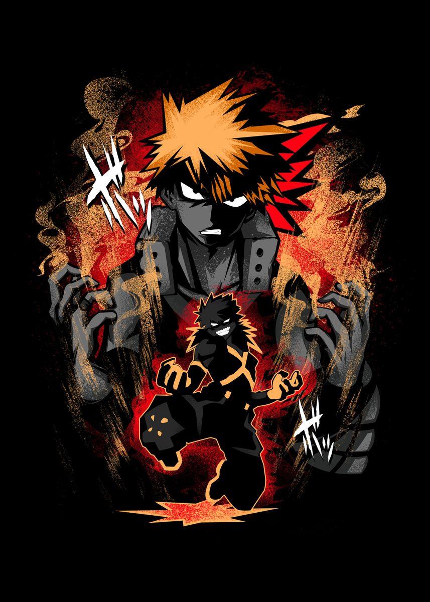 Hero Rival Katsuki Bakugou